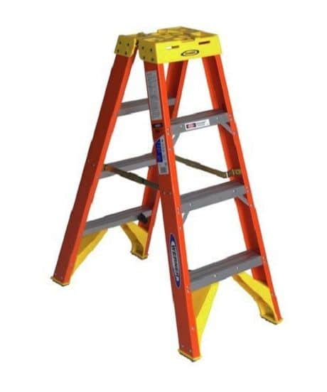 twin-step-ladder