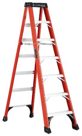 Louisville 7 foot ladder