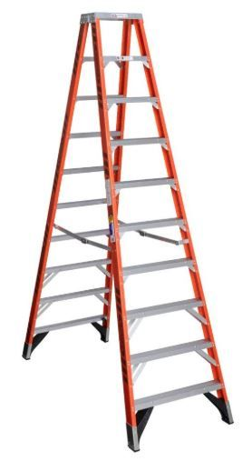 Werner 10 foot twin step ladder