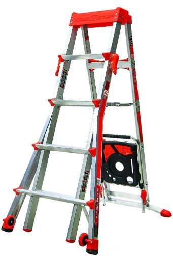 little giant adjustable ladder