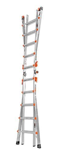 Extension ladder layout