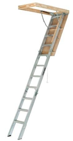 Louisville Aluminum Attic Ladder