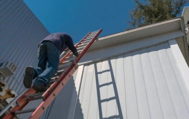 How to Tie Off a Ladder